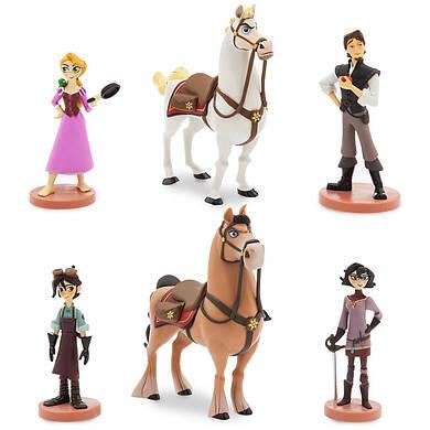 Рапунцель Новая история Дисней набор фигурок / Tangled Play Set Disney