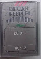 """Иглы для промышленного оверлока """"ORGAN NEEDLES"""" DСx1"""