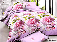 Полуторный набор постельного белья 150*220 Полиэстер №202 Черешенка™