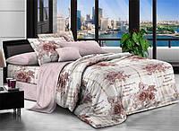 Полуторный набор постельного белья 150*220 Полиэстер №151 Черешенка™