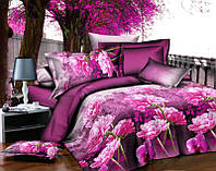 Полуторный набор постельного белья 150*220 Полиэстер №168 Черешенка™