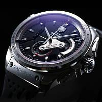 Часы Tag Heuer Carrera calibre 36 silver, механика, мужские