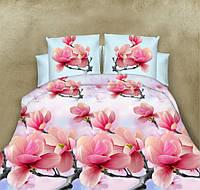 Полуторный набор постельного белья 150*220 Полиэстер №158 Черешенка™