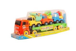 Конструктор у вигляді вантажівки