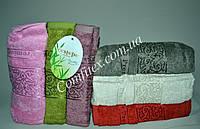 Набор махровых банных полотенец Cestepe Premium Bamboo b-058 Бамбук 70х140см. (6шт.) - Турция