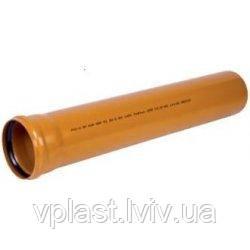 Труба Wavin наружная 110х1 м (3,2мм)