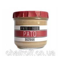 Паштет из утиной печени Hacendado Pate Pato (без глютена) 160g (шт.)