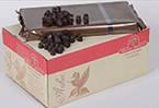 Шоколад темний у формі діамантів, вміст какао продуктів 72%, вміст масла какао 37-39%, фото 2