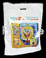 "Пакеты ""банан"" с логотипом 50Х60, 60 мкм"