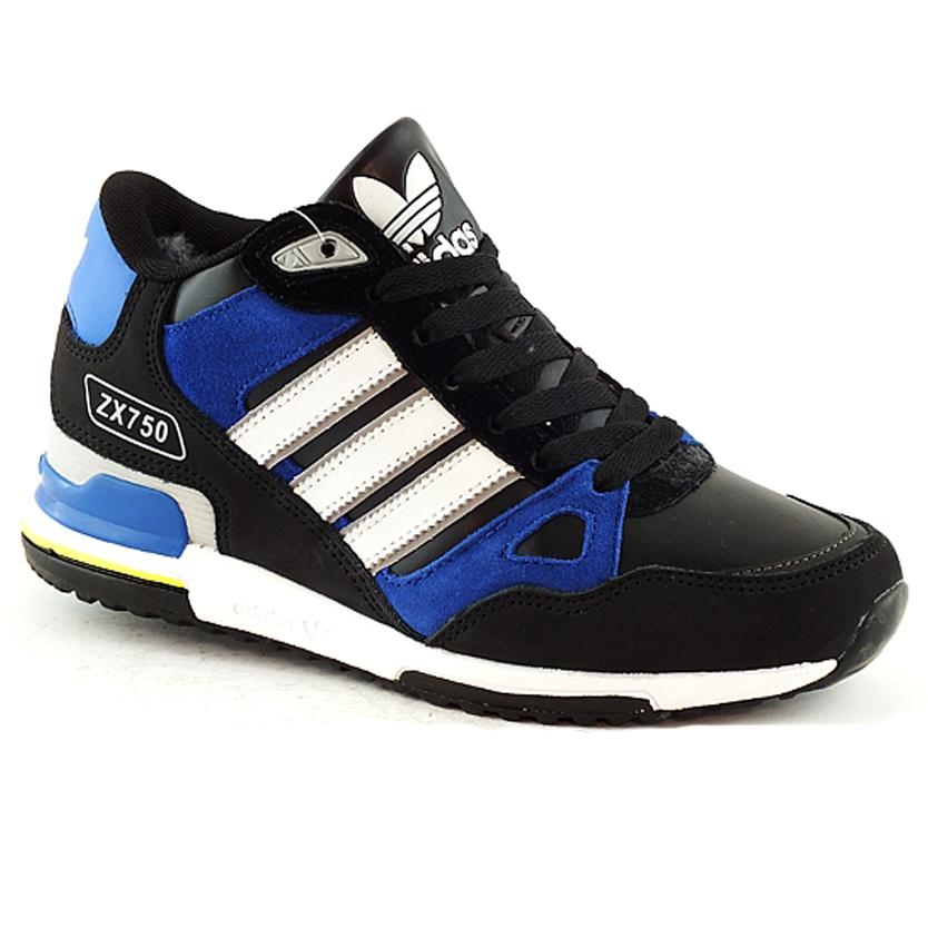 e2a17bce Зимние кроссовки Adidas чёрные black 37-41 (реплика): продажа, цена ...