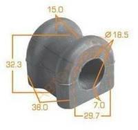 Оригинал втулка заднего стабилизатора TOYOTA AVENSIS D19mm*
