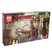 Конструктор Ninjago LEPIN 06059 Битва Гармадона и Мастера Ву 327 д.