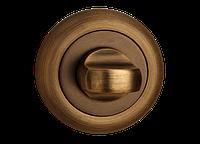 Поворотник под WC MVM T8 MACC (матовая бронза)