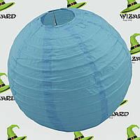Декор подвесной Шар (35см) голубой, фото 1