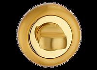 Поворотник под WC MVM T8 PB/SB (полированная латунь/матовая латунь)
