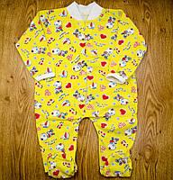 Человечек MirAks BU-5026-00 Yellow (Желтый/кулир)