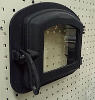 Чугунная дверка для печи