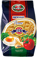 """Макарони ТМ Чемпіон """"Піринки"""", 400г"""