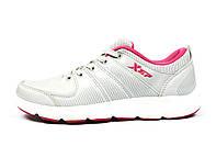 Серые кроссовки женские, подростковые Xtep для спорта, повседневной носки, фото 1