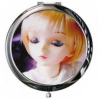 Зеркало косметическое «Донна » d-7 см.
