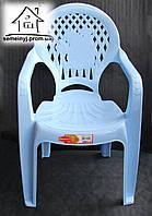 Пластиковый детский стул Senyayla C040 (голубой)