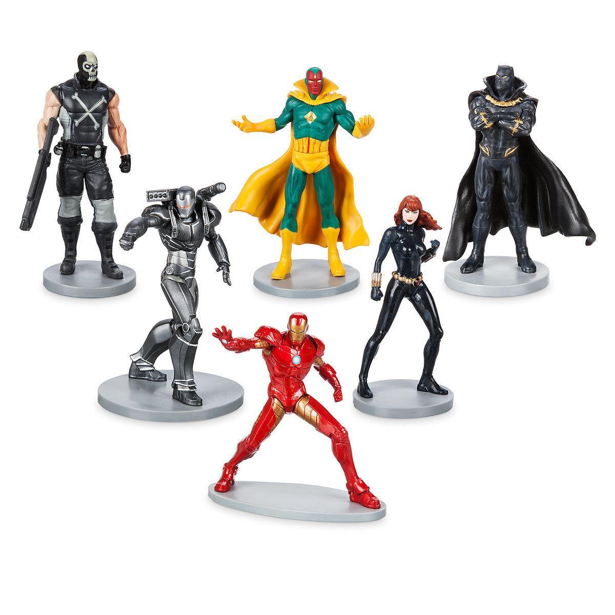 Набор фигурок Мстители Дисней - 2 Капитан Америка Avengers Marvel