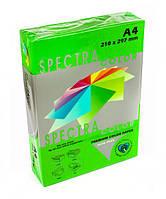 Бумага цветная А4 SPECTRA 160г/м2 250 листов, интенсивный зеленый 230