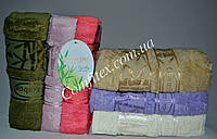 Набор махровых банных полотенец Cestepe Bamboo 063 Бамбук 70х140см. (6шт.) - Турция