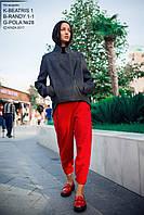 Куртка женская, темно-серая, демисезон K-BEATRIS1