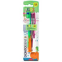 Детская зубная щетка Dontodent Kids от 3 до 6 лет (Германия)