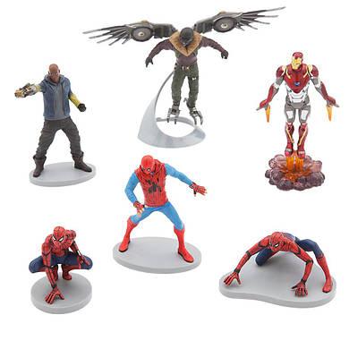 Набор фигурок Спайдермен Возвращение домой Дисней / Spider-Man Homecoming Play Set Disney
