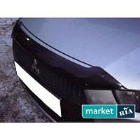 Дефлекторы капота Mitsubishi Outlander 2010-2012