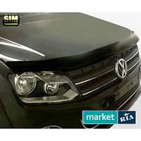 Дефлекторы капота Volkswagen Amarok 2010-2016
