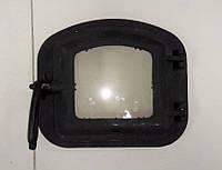 Чугунная дверка для печи 340х290 мм, фото 1