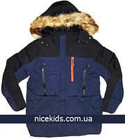 Детская подростковая зимняя куртка для мальчика 134, 140, 146, 152, 158, 164, 170р