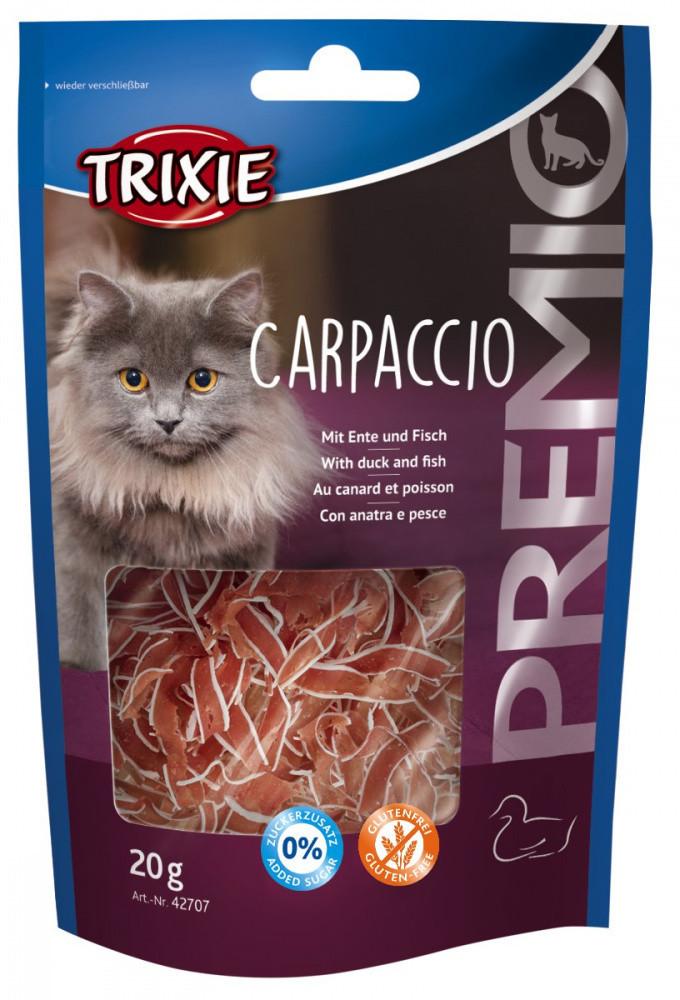Trixie TX-42707 PREMIO Carpaccio 20г- лакомство для кошек с уткой и рыбой