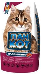 Корм для котов Пан Кот говядина-10 кг Акция!