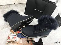 Женские ботинки Зима опушка