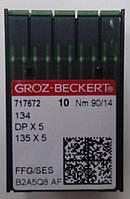 """Иглы """"GROZ-BECKERT"""" DPx5 № 100"""