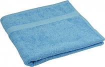 Махровое полотенце голубое 40х70