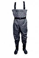 Забродный костюм Extreme Fishing Waders PSS-W5 резиновые сапоги size L-10  р.43