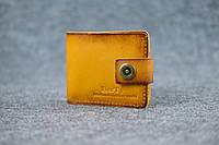 Классическое портмоне с монетницей | Италия Янтарь, фото 1