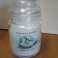 Арома свеча FEROMA CANDLE Ванильное мороженное