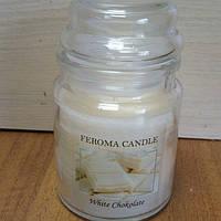 Арома свеча FEROMA CANDLE Белый Шоколад