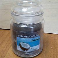 Арома свеча FEROMA CANDLE Кокос