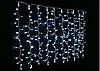 Светодиодная гирлянда Штора (Curtain) 1,8х1 м белая с контроллером