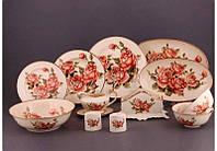 Столовый сервиз Lefard Корейская роза 28 пред 215-182