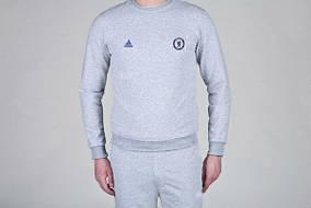 Спортивный костюм Adidas-Chelsea, Челси, Адидас, серый, К779