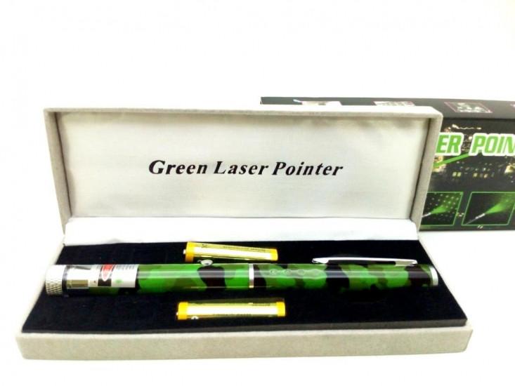 Лазерная указка камуфляж зеленый - Интернет-магазин «3brata» в Киеве