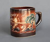 Чашка Классик Море глянцевая
